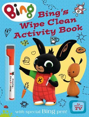 Bing's Wipe Clean Activity Book -