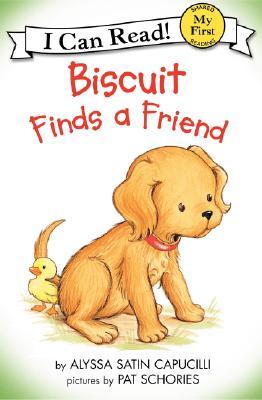 Biscuit Finds a Friend - Capucilli, Alyssa Satin