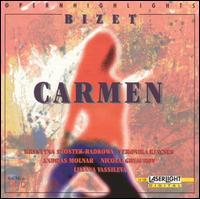 Bizet: Carmen (Highlights) - Andras Molnar (tenor); Krystyna Szostek-Radkowa (soprano); Lilyana Vassileva (soprano); Nicolai Ghiaurov (bass);...