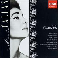Bizet: Carmen - Andrea Guiot (soprano); Claude Cales (baritone); Jacques Mars (bass); Jacques Pruvost (vocals); Jane Berbié (vocals);...