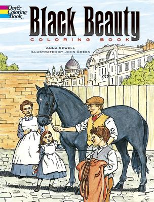 Black Beauty Coloring Book - Sewell, Anna, and Green, John