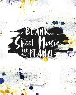 Blank Sheet Music for Piano: Blank Sheet Music Paper / Music Sheet Music / Sheet Music Notebook, Clefs Notebook - Publishing, Moito
