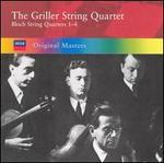 Bloch: String Quartets 1-4