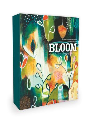 Bloom Note Cards Artwork by Flora Bowley: 16 Assorted Note Cards and Envelopes -