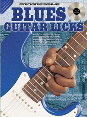 Blues Guitar Licks Bk/CD - Gelling, Peter