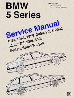 bmw 5 series e39 service manual 1997 2002 volume 2 525i 528i rh alibris com