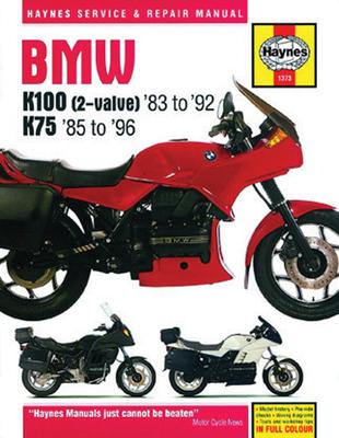 BMW K100 & 75 Motorcycle Repair Manual - Haynes, John