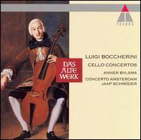 Boccherini: Cello Concertos - Adriaan van Woudenberg (horn); Anner Bylsma (cello); Hermann Baumann (horn); Concerto Amsterdam; Jaap Schröder (conductor)