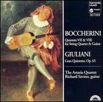 Boccherini: Quintets VII & VIII for String Quartet & Guitar; Giuliani: Gran Quintetto, Op. 65