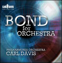 Bond for Orchestra - Adam Goldsmith (guitar); Andrew Pask (guitar); Andy Vinter (guitar); Dave Holmes (guitar); Guy Barker (trumpet); Ian Thomas (drums); Pavel Sporcl (violin); Steve Socci (latin percussion); Philharmonia Orchestra; Carl Davis (conductor)