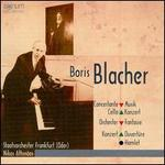 Boris Blacher: Concertante Musik; Cello Konzert; Orchester Fantaisie