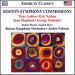 Boston Symphony Commissions: Timo Andres, Eric Nathan, Sean Shepherd, George Tsontakis