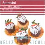 Bottesini: Three String Quartets
