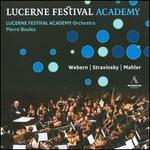 Boulez Conducts Webern, Stravinsky & Mahler