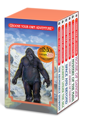 Box Set #6-1 Choose Your Own Adventure Books 1-6:: Box Set Containing: The Abominable Snowman, Journey Under the Sea, Space and Beyond, the Lost Jewels of Nabooti, Mystery of the Maya, House of Danger - Montgomery, R A