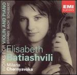 Brahms, Bach, Schubert: Works for Violin and Piano