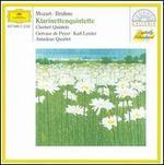 Brahms: Clarinet Quintet; Mozart: Clarinet Quintet - Amadeus Quartet; Gervase de Peyer (clarinet); Karl Leister (clarinet)