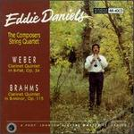 Brahms: Clarinet Quintet, Op. 115; Weber: Clarinet Quintet, Op. 34