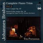 Brahms: Complete Piano Trios, Vol. 2 - Chia Chou (piano); Michael Gross (cello); Trio Parnassus; Wolf-Dieter Streicher (violin)