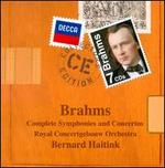 Brahms: Complete Symphonies & Concertos - Claudio Arrau (piano); Henryk Szeryng (violin); Janos Starker (cello); Royal Concertgebouw Orchestra; Bernard Haitink (conductor)