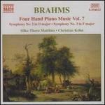 Brahms: Four Hand Piano Music, Vol. 7 - Symphonies Nos. 2 & 3
