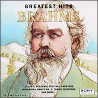 Brahms: Greatest Hits - Emanuel Ax (piano); Isaac Stern (violin); Jaime Laredo (viola); Katia Lab�que (piano); Marielle Lab�que (piano);...