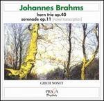 Brahms: Horn Trio; Serenade in D