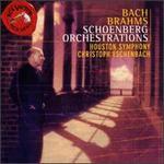 Brahms: Piano Quartet/Bach: Präludium Und Fugue,BWV.552/Chorale Prelude Nos. BWV.654 & 631