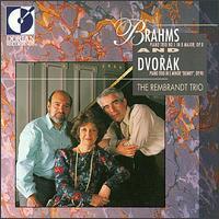 """Brahms: Piano Trio No. 1 in B Major, Op. 8; Dvorák: Piano Trio in E Minor """"Dumky"""", Op. 90 - Coenraad Bloemendal (cello); Gerard Kantarjian (violin); The Rembrandt Trio; Valerie Tryon (piano)"""