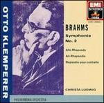 Brahms: Symphonie No. 2; Alto Rhapsody [Limited Edition]