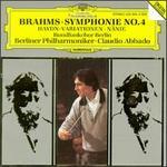 Brahms: Symphonie No. 4; Haydn-Variationen; N?nie