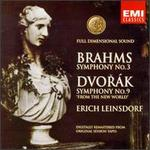 "Brahms: Symphony No. 3; Dvorák: Symphony No. 9 ""From the New World"""