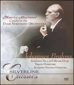 Brahms: Symphony No. 4; Tragic Overture; Academic Festival Overture [DVD Audio]