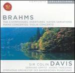 Brahms: The 4 Symphonies; Overtures; Haydn Variations; Piano Concertos; Violin Concerto [Box Set]