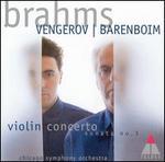 Brahms: Violin Concerto; Violin Sonata No.3
