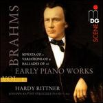 Brahms, Vol. 1: Early Piano Works