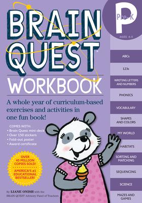 Brain Quest Pre-K Workbook - Onish, Liane