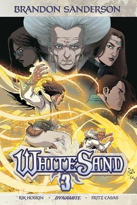 Brandon Sanderson's White Sand Volume 3 - Sanderson, Brandon, and Hoskin, Rik, and Casas, Fritz