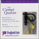 Bridge: String Quartet No.4/Beethoven: String Quartet No.10