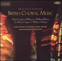 British Choral Music of the 20th Century - Colin Lawson (clarinet); David Le Monnier (vocals); English String Orchestra; Evelyn Nallen (recorder);...