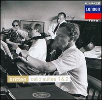 Britten: Cello Suites 1 & 2 - Benjamin Britten (piano); Mstislav Rostropovich (cello)
