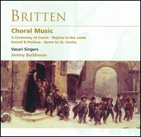 Britten: Choral Music - Andrew Angus (bass); Caryl Thomas (harp); Julia Field (alto); Margaret Crossland (soprano); Mark Johnstone (tenor);...