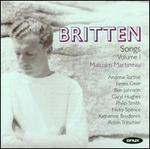 Britten: Complete Songs, Vol. 1