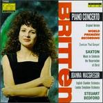 "Britten: ""Paul Bunyan,"" Piano Concerto/Saxton: Music to Celebrate"