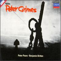 Britten: Peter Grimes - Claire Watson (soprano); David Kelly (bass); Geraint Evans (baritone); James Pease (vocals); Jean Watson (vocals);...