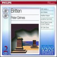 Britten: Peter Grimes - Anne Pashley (soprano); Elizabeth Bainbridge (contralto); Forbes Robinson (bass); Heather Harper (soprano);...