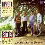 Britten: String Quartet No3, Op94; Tippett: String quartet No4