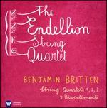 Britten: String Quartets Nos 1, 2, 3; 3 Divertimenti