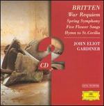 Britten: War Requiem; Spring Symphony - Alison Hagley (soprano); Anthony Rolfe Johnson (tenor); Bo Skovhus (baritone); Catherine Robbin (contralto);...
