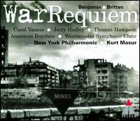 Britten: War Requiem - Carol Vaness (soprano); Jerry Hadley (tenor); New York Philharmonic (chamber ensemble); The American Boychoir;...